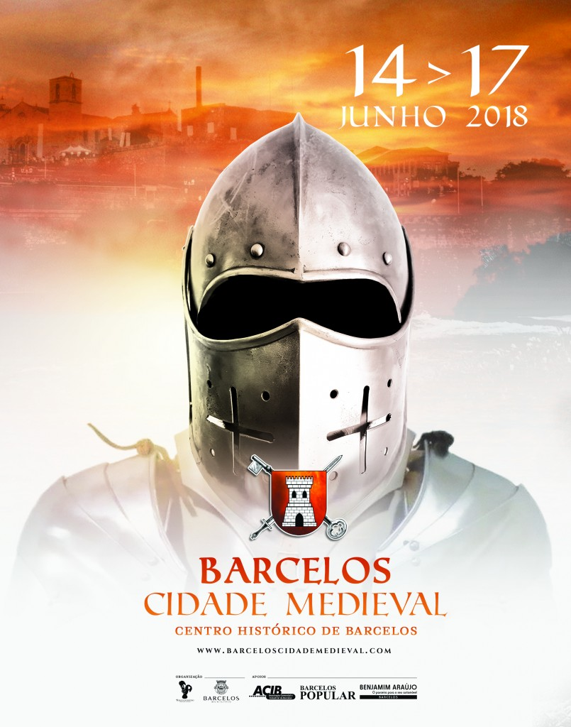 Cartaz Barcelos Cidade Medieval 2017